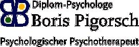Boris Pigorsch, psychologischer Psychotherapeut